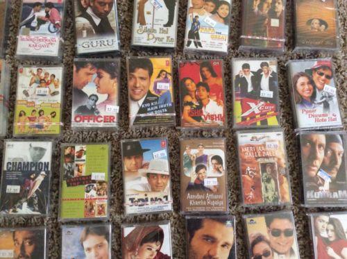 90s' movie cassettes
